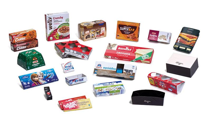 Συσκευασίες τροφίμων - Βιομηχανική συσκευασία
